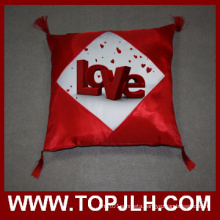Sublimation Picture Transfer Satin Pillow Case with Fringes