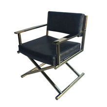 North-European study stainless steel leisure computer chair