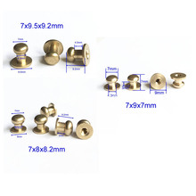 Tornillo de cabeza de 7mm Stud ScrewBack Studs