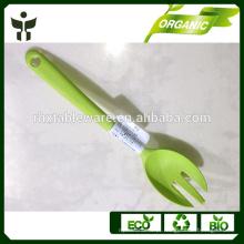 Forquilhas eco-friendly grosso de fibra de bambu garfos longos