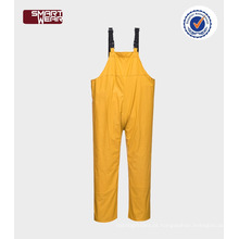 Atacado PU chuva BIB total Safety Wear