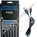 1.2m Universal USB Recharge Cable For NDS1 Giftbox Package