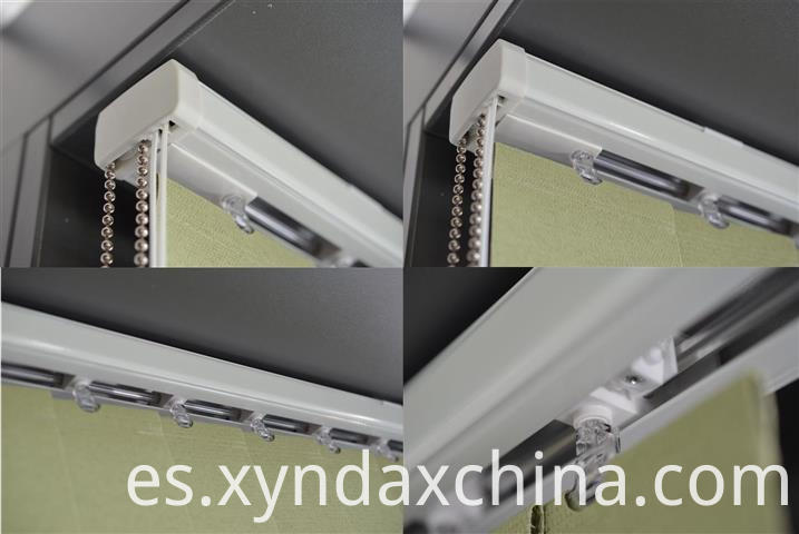 Chain vertical blinds