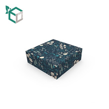 Professional Printing Handmade Elegance Cosmetic Paper Box With Double Grid