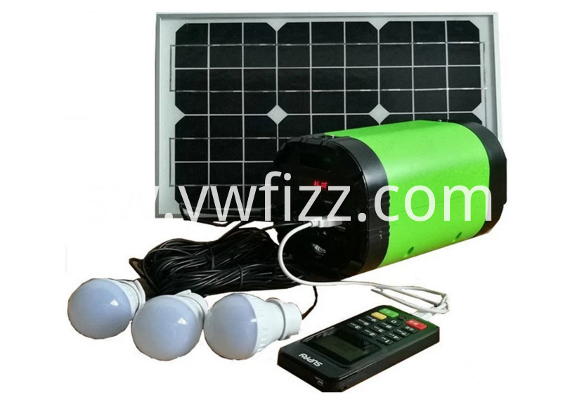 Portable Solar Camping System