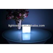 Lámpara de mesa del restaurante del cubo del 10cm