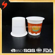 BSCI-certified 315ml White Plastic Disposable Cup