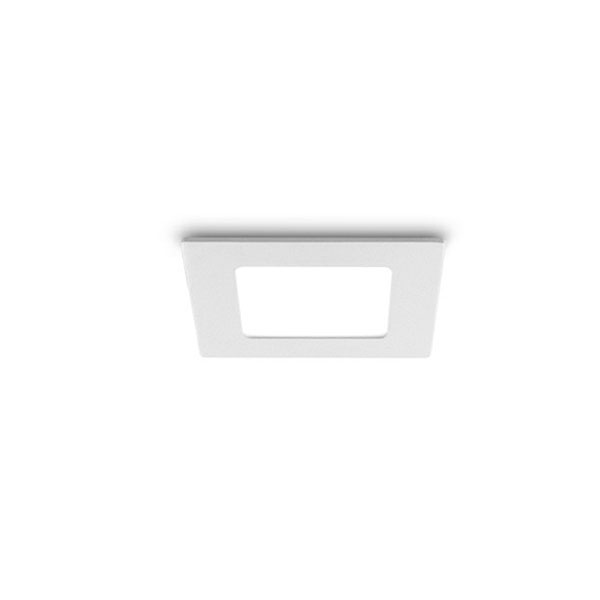 Square White 6W LED Downlight