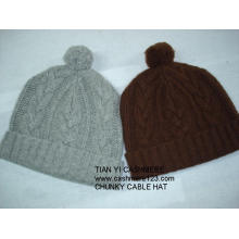 Cashmere Chunky Scarf Hat Set