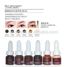 Goochie Permanente Maquillaje pigmento de crema para el tatuaje de bordado de cejas