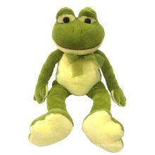 Plüschtier sitzender Frosch