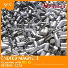 Супер сильным магнитные forcen N42ndfeb магниты цилиндр для продажи