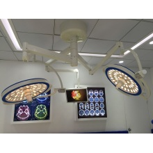 Ceiling Double Domes Round Type LED Surgical Lamp