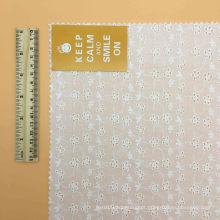 Tecido de algodão 100% ilhó Tecido de algodão Tecido de frango
