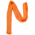 10 Ton 8M Or OEM Length 4 Ply Soft 8T Round Lifting Belt Sling Orange Color Safety Factor 8:1 7:1 Type