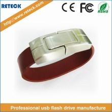 Leather Wristband Memory Stick USB Flash Drive