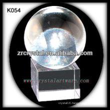 nice k9 crystal ball K054
