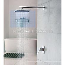 Grifo termostático montado en la pared del mezclador del grifo de la ducha del baño
