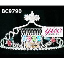 Tiara de la corona de la moda