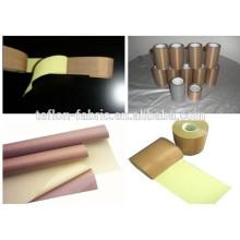 Fitas de tecido PTFE resistentes a altas temperaturas