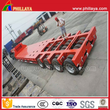 Multi-Lines Low Bed Modular Trailer for Heavy Equipment Transport