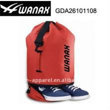 mochila de praia com compartimento de sapato