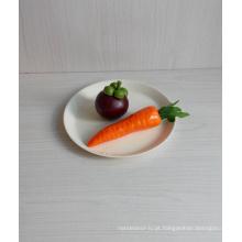 Placa de mesa biodegradável de fibra de bambu Eco (BC-P1023)