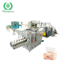 Full-Automatic Facial Tissue Paper Making Production Line Equipment