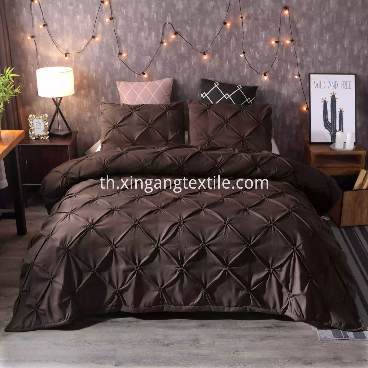 Duvet Cover Brown