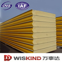 Tongue and Groove Sandwich Panel with PU Core Materials