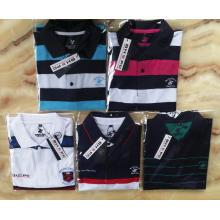 BHPC Israel Custom style Stripe Yarn Dyed Men's Polo Tee Shirt
