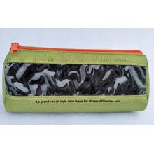 OEM Logo Advertising Zipper Polyester Pencil Case for Promotion