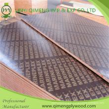 Waterproof Glue Poplar Core 14.5mm Shuttering Plywood for Construction