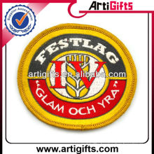 Custom design security embroidered patch badge