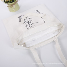 Natural 10oz Cotton Tote Bag For Women Shopping
