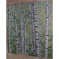 Wholesale Wall Art Forest Pattern Glass Mosaic Mural