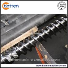 PP/PE granulation bimetallic plastic extruder single screw