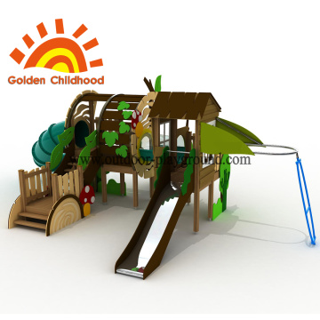 Playhouse Slide Combination Outdoor Playground Equipment