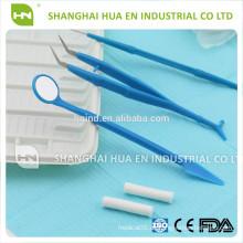 Basic Dental Zahn Extraktion Zange Kit, Dental-Tools-Set, Dental-Produkte / Dental-Instrumente gesetzt