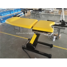 Obstetric examination table easy cleaning and disinfection