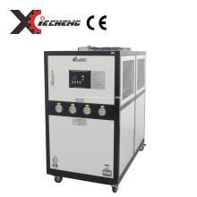 O refrigerador de refrigeração industrial refrigerado a ar do glicol da refrigeração 12HP refrigerou o parafuso