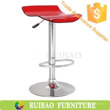 Лучшая продажа Акриловый барный стул для стула с хромированной основой в акриловой мебели