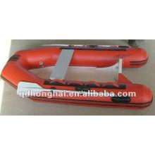 Barco inflável de casco rígido RIB250 com CE