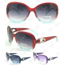 Metal Decoration Ladies Sunglasses (MS13039)