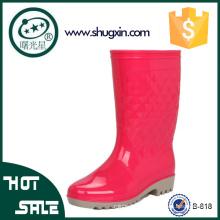 coreano impermeable zapatos de goma jardín lluvia zapatos