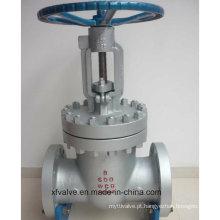 Válvula de porta de alta pressão da extremidade da flange de Wcb do aço de molde 600lb