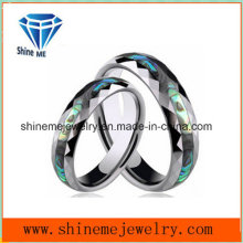 Shineme Jewelry High Quality Shell Tungsten Ring Jewelry
