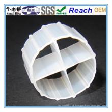 Embalagem biológica da suspensão flutuante do PVC do plástico
