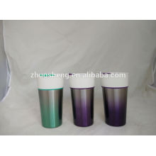 16oz design beautiful heart shape ceramic couple mug