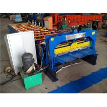 Wellblechdachblech, das Maschine herstellt Farbige Metalldachblech-Rollformmaschine Südafrika